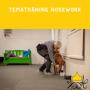 Tematräning Nosework - Nose Work tematräning - markeringar röd kong 2/12
