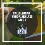 Rallylydnad nybörjarklass steg 1 - Rallylydnad nybörjarklasssteg 18/11