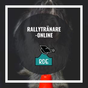 Rallytränare-Online - Rallytränare-distansutbildning Är du intresserad av att få en fördjupad kunskap i rallylydnad i syfte att träna och tävla med din egen hund? Då är Rallytränarutbildning något för dig. Med hjälp av föreläsningar, filmklipp, kurslitteratur och textdokument