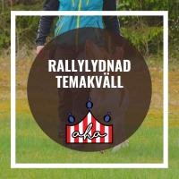 Rallylydnad-Temakväll på Alingsås Hundarena