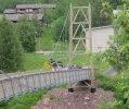 Flaggtåget på bron