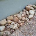 Sten vid hus FÖRE