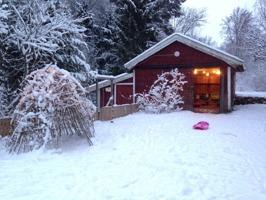Leksaksförrådet vinter