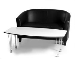 Trio bord med Club Soffa