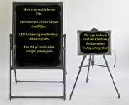 LED skriv paneler.