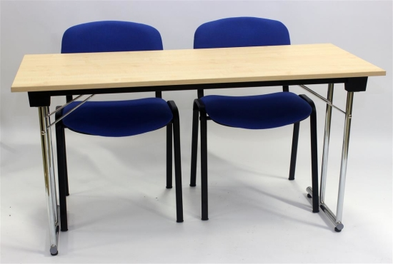 Kongress HD 140x60 cm. Stol Adept Blå