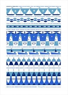 Tea Towel Sjörapporten