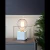 Lampfot Fyrkant Vit E27