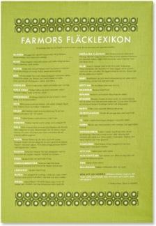 Tea Towel Farmors fläcklexikon