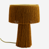 Table lamp w/ tassels