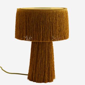 Table lamp w/ tassels