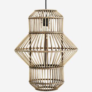Bamboo ceiling lamp
