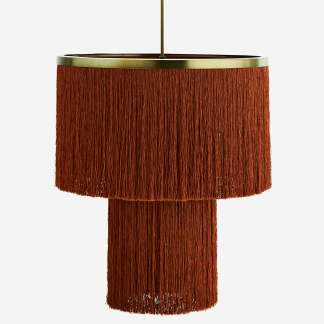 Tassel ceiling lamp
