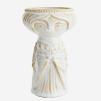 Vase w/ woman imprint