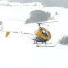 Schweizer 300 i vintermiljö