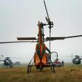 Tre av våra helikoptrar på plats