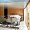 Smidig placering av material i rätt rum innan nästa våning sätts på plats