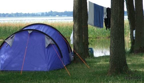 Karta Camping Skane.Jagersbo Camping
