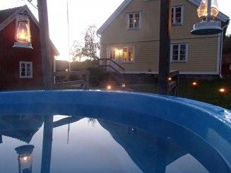 Vardagslyx med ett varmt och skönt utebad