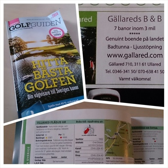 golfbanor, shopping, golfguiden, Gällared, Ullared