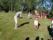 bandklippning och invigning av krocketgolf