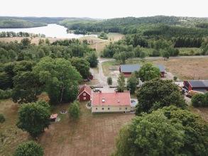 Trädgården torra sommaren 2018, Gällared 710