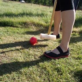 krocket golf rödboll