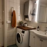 tvätt maskin stora lägenheten