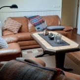 soffa och tvrum