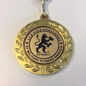 Exempel på medalj som kommer att delas ut.