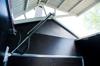 Hydraliskt öppningsbart tak