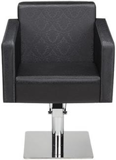 Frisörstol Quadro färgval - Made in Europe - Frisörstol Quadro kvadrat base i färg P