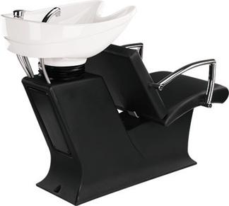 Schamponering Partner  Made in Europe - Schamponering Partner i svart färg med vit handfat