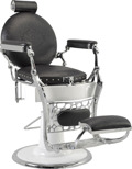 Barber Chair Vintage - handgjord