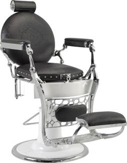 Barber Chair Vintage - handgjord - Barber Chair Vintage - handgjord svart