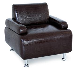 Fåtölj VIP väntplats, färgval, Made in EU - Seat Vip i färg P