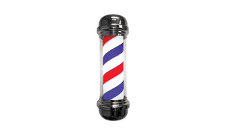 Barber pole Big - Rotating/Light - Barberpole Big