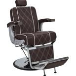 Barberarstol Borg brun eller svart med vit Made in Europe