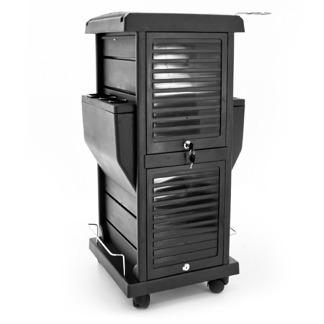 Arbetsbord Miro svart låsbar - Arbetsbord Miro svart låsbar