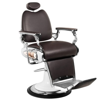 Barber Chair Maroon III Italian Design BROWN - Barber Chair Maroon II BRWON