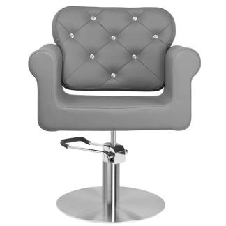 Frisörstol Brilliant grå - Frisörstol Brilliant grå