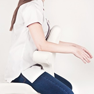 Arbetsstol Terapeutstol cream/cit - Arbetsstol Terapeutstol  vit/cream