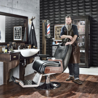 Barber Salon EMPIRE LYX Made in Europe - Barber Salon Lyx UTAN Barber Chair Alex