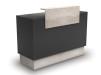 Receptionsdisk Thierry - Receptionsdisk Thierry cement/black