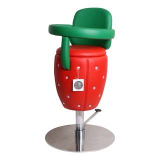Barnfrisörstol Lyx Design Fruit med Svarowski Made in Europe - Barnfrisörstil Lyx Design Fruit med Svarowski