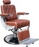 Barber Chair Charles cognac + mjörkbrun