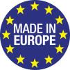 Arbetsplats Shine med belysning Made in Europe - Arbetsplats Shine i SVART GLANSIG