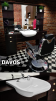 Barber Chair Tiger Barberarstol med MÖSNTER Made in Europe