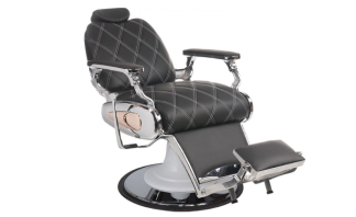Barber Chair Tiger Barberarstol med MÖSNTER European Producent - Barber Chair Tiger Mönster