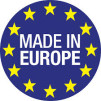 Frisörstol Tina brun Made in Europe